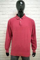 Polo FILA Uomo Taglia Size 54 Maglia Maglietta Camicia Shirt Maniche Lunghe