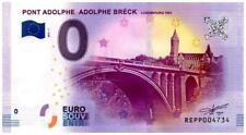 Billet touristique - 0 Euro - Luxembourg - Pont Adolphe Bréck - (2017-1)