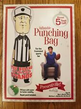 Inflatable referee punching bag exercise ruling on the field bad call no flag