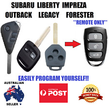 SUBARU IMPREZA LIBERTY OUTBACK FORESTER LEGACY  REMOTE KELESS KEY FOB