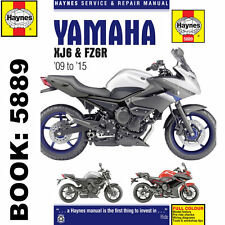 Yamaha XJ6 inc Diversion FZ6R 2009-2015 Haynes Workshop Manual