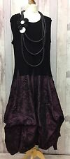 "SIZE 3 quirky/lagenlook  MULBERRY  parachute dress size  XXXL 48-54""B D'CELLI"
