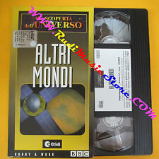 film VHS ALLA SCOPERTA DELL'UNIVERSO Altri mondi 1999 HOBBY & WORK (F75) no dvd