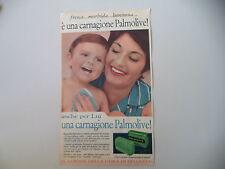 advertising Pubblicità 1961 SAPONE PALMOLIVE