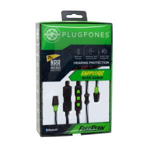 Plugfones FreeReign Wireless Bluetooth Earplug-Earphone Hybrid