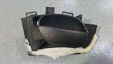 PEUGEOT 206 98-10 3DR FRONT PASSENGER NS INTERIOR DOOR HANDLE BLACK 9632918977