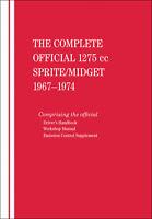 Shop Manual 1275Cc Austin Healey Sprite  Mg Midget 1967-1974