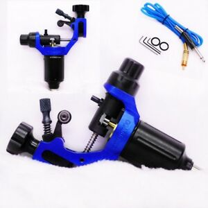 HummingBird Pro Liner Shader Tattoo Rotary Swiss Motor Gun Machine Alloy BLUE