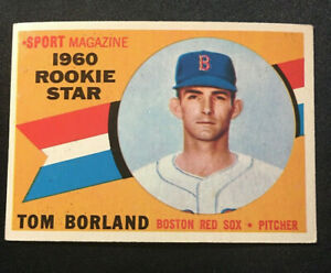 1960 Topps #117 Tom Borland1960 Excellent-Near Mint, (NM)