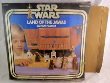 Vintage Kenner Star Wars Land of the Jawas Sand Crawler Adventure Set with Box