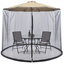 Best Choice Products Outdoor 9 Foot Patio Umbrella Screen - Black