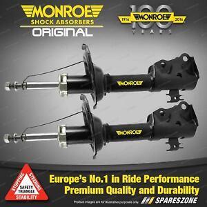 Front LH + RH Monroe Original Shock Absorbers for PEUGEOT 206 Hatchback 98-07