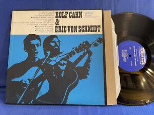 ROLF CAHN VON SCHMIDT FOLKWAYS FA 2417 1967 ORIGINAL USA LP NEAR MINT