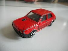 Majorette FIat Ritmo Abarth 2000 in Red