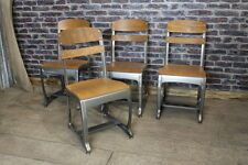 VINTAGE INDUSTRIAL STYLE DINING CHAIRS CAFE CHAIRS RETRO INSPIRED SEATING ETON