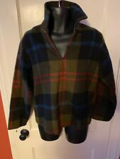 Vintage Woolrich Pullover Button Moth Proof Wool