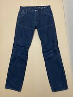 "G Star Raw Jeans Mens ~ Size 33 / 34 ~ Great Cond "" Motor 5620 Tapered Embro """