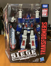 Tranformers Siege War For Cybertron Ultra Magnus WFC-S13 Leader Class