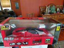 """New Bright R/C La Ferrari Radio Control R/C Car w/ Box & Manual No Remote 22"""""""