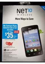 Net10 Wireless Lg Lucky - Android Smart Phone Brand New