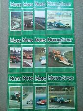 Vintage Motor Sport Magazines 1970 - Vol XLVI -Issues 1-12 -You Choose the Issue