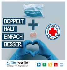 Filter Your Life Nasenfilter ,   Weniger Allergie  Schadstoffen einatmen 7 Sets