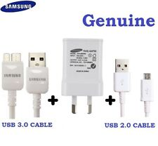 Genuine Samsung USB 2A AC Wall Charger+Data Cable for Galaxy S7 S6 edge S5,S4