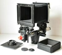 Swiss Made Sinar 4x5 View Camera With Schneider 210mm 9 Lens Excellent Condition