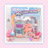 ❤️NEW My Little Pony MLP G2 VTG Tipsy Tulip Magic Motion Friends 1997 MOC NIP❤️