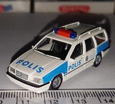 WIKING 104 06 PETIT MINIATURE VOLVO 850 KOMBI POLIS POLICE POLIZEI 1:87 HO NEUF