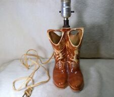 Mc Coy cowboy boot lamp