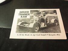 Original Driver Trainer Kar Go-Cart Sales Brochure Midget Motors Corp.