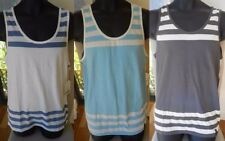 Cotton Basic Tees Sleeveless T-Shirts for Men