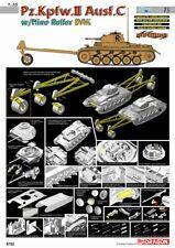 1/35 Cyber Hobby Pz.Kpfw.II Ausf.C Panzer II w/Mine Roller DAK #6752