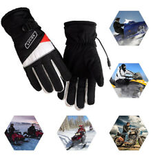 Motorcycle Electric Heated Gloves Warmer Hands Rechargeable by Battery Outdoor