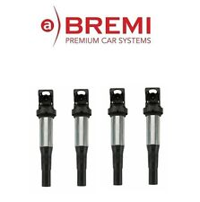 NEW Mini Cooper R57 SET OF 4 BREMI Ignition Coil With Plug Connector 12137575010