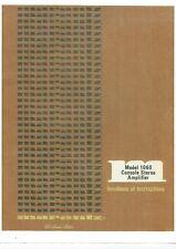 Marantz user manual Bedienungsanleitung für model 1060
