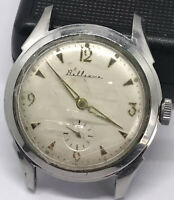 Vintage RARE BEATIFUL WATCH JUNGHANS BELLEVUE MILITARY Radium Dial Swiss
