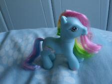 da 5 a 7 anni regalo festa Rainbow Dash MY LITTLE PONY 18 Inch Blue in similpelle