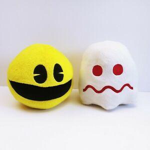 Pac Man & Ghost Plush Stuffed Anmials Namco Bandai Games