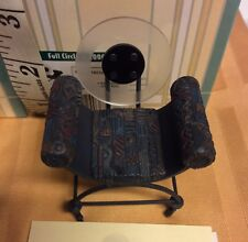 Full Circle Chair #24036 Dollhouse Miniature Take a Seat Collection by Raine NEW