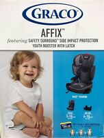 GRACO AFFIX BOOSTER WITH SAFETY SURROUND LATCH BACK