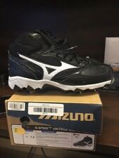 Mizuno 9 Spike Vintage Mid G5 Size 7.5 M Men's Baseball Cleat SKU 320289.9000