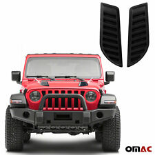 Decorative Air Flow Intake Scoop Bonnet Vent Hood For Jeep Gladiator 2020-2021