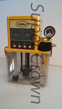 Chiba CNC Lube Pump 2L Tank for Industrial Machines w/ Pressure Relief CE 110V