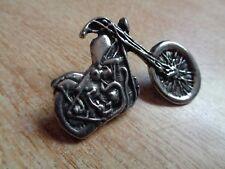 Harley Davidson Vintage Chopper Motorcycle Pin HD Biker Vest Jacket Hat Badge