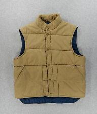 LL Bean Goose Down NorthWoods Vest (Men's Small) Tan