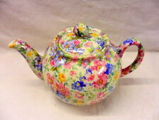 Mille fleure chintz design 2 cup teapot by Heron Cross Pottery