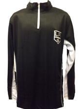 Los Angeles Kings Mens M-L-XL-2XL-3XL-4XL-Tall Majestic 1/4Zip Long Sleeve Shirt