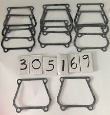 Lot of 11 OMC 305169  Johnson Evinrude Gasket Free US Ship New Old Stock 0305169